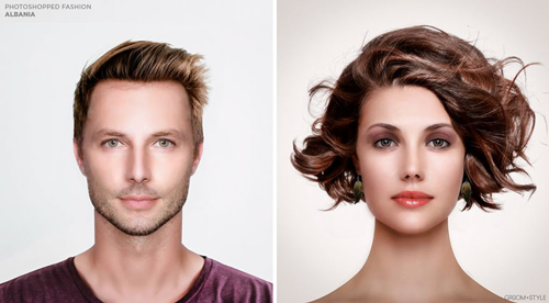 Come dovrebbero essere modificati questi volti per essere belli nel mondo in 28 foto