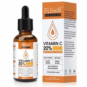 Siero viso alla Vitamina C di ELBBUB
