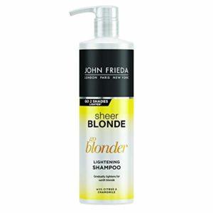 John Frieda Sheer Blonde Go Blonder, shampoo schiarente (versione inglese)