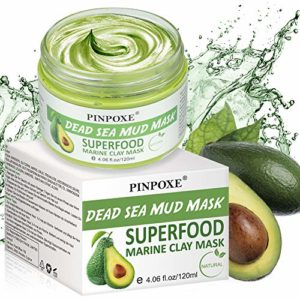 Pinpoxe maschera all'argilla e avocado