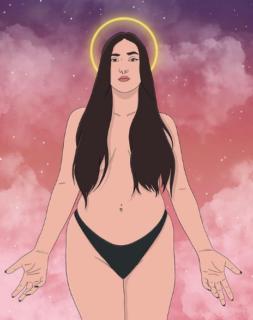 Le donne libere, imperfette, mestruate, nude e volitive di Carmen Suya siamo noi