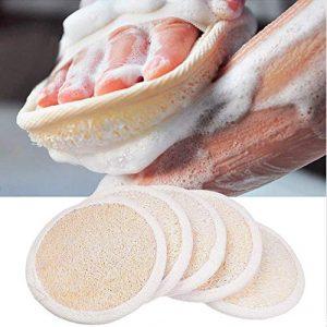 Spugne per Scrub Esfoliante – Materiale in Luffa Naturale
